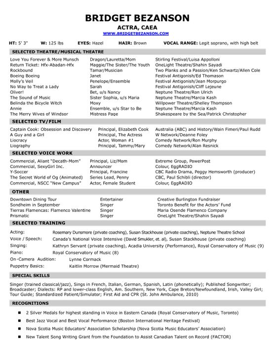 Career Resume Template Sample Resume Resume Resume Template