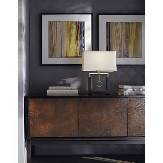 Charles Bronze Table Lamp in Table Desk Lamps – Crate and Barrel Desk Lamp