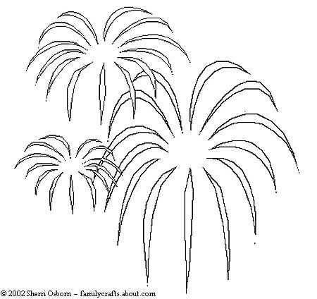 firework coloring pages eagle - photo#28