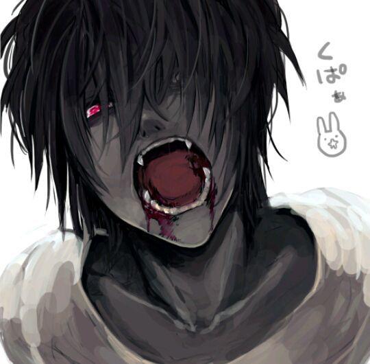 الشبح و مصاص الدماء Dark Anime Anime Anime Guys