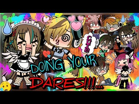 Doing Your Dares 50 Dares Gachalife Youtube I Love You All Anime People Love You All