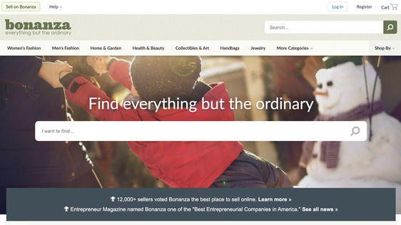 Bonanza online marketplace