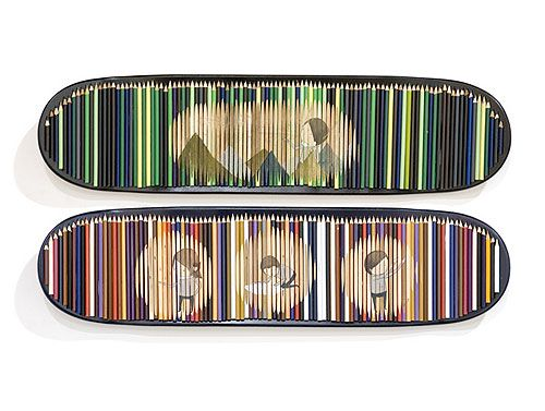 no comply australia artshow skateboard
