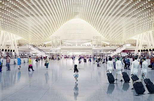 T3 at Taiwan Taoyuan International Airport - Rogers Stirk Harbour + Partners