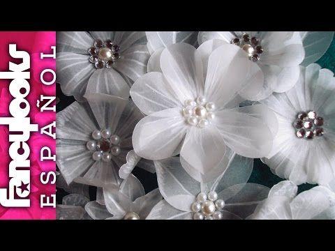 Preciosas Flores variadas de papel vegetal DIY (inspiradas por LasCosasdelaLola y Laura Valios) - YouTube