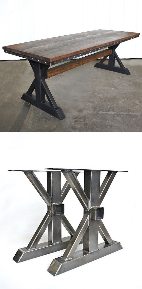 Tables And Table Legs Available For Diy Or Complete And Ready To Ship Giftedoccasion Com Vintage Industr Industrial Table Legs Steel Table Legs Diy Table Legs