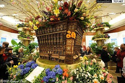 Flower Show With Attractive Flowers