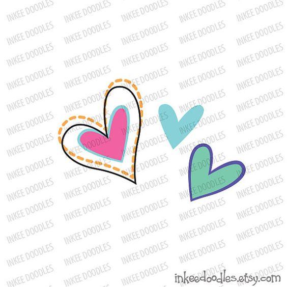 Hearts Clipart Cute Love Romance Doodles Teal Pink ClipArt Digital Scrapbook Valentine Heart Engagement Wedding Supplies by InkeeDoodles, set of 22 designs, #Hearts #Clipart #Cute #Love #Romance #Doodles #Teal #Pink #ClipArt #Digital #Scrapbook #Valentine #Heart #Engagement #Wedding #Supplies