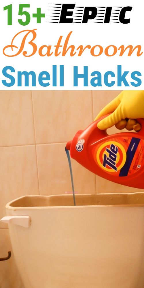 Brilliant Bathroom Smell Hacks That Are Worth Keeping Bathroom Smells Cleaning Hacks House Cleaning Tips
