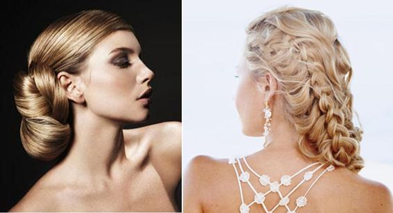 show off your beautiful long hair for your big day