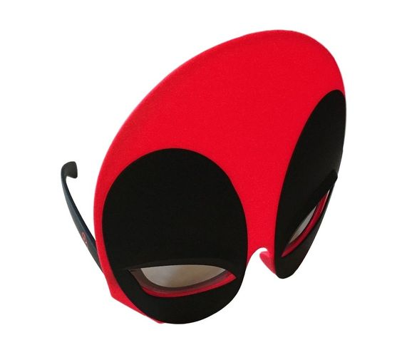 Deadpool Super Hero Shades Sun Stashes Costume Sun Glasses Comics Shark Tank #MarvelComics