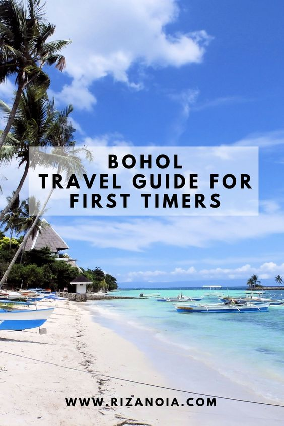 Bohol Travel Guide for First Timers