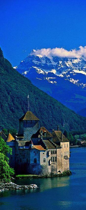 Castle of Chillon, Montreux, Switzerland...