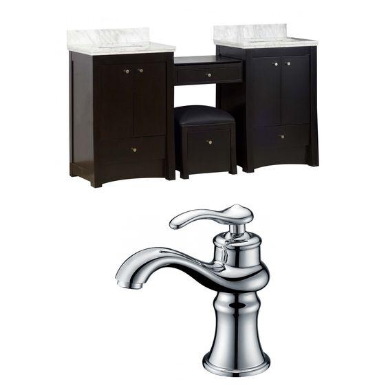 "Elite 70"" Double Bathroom Vanity Set"
