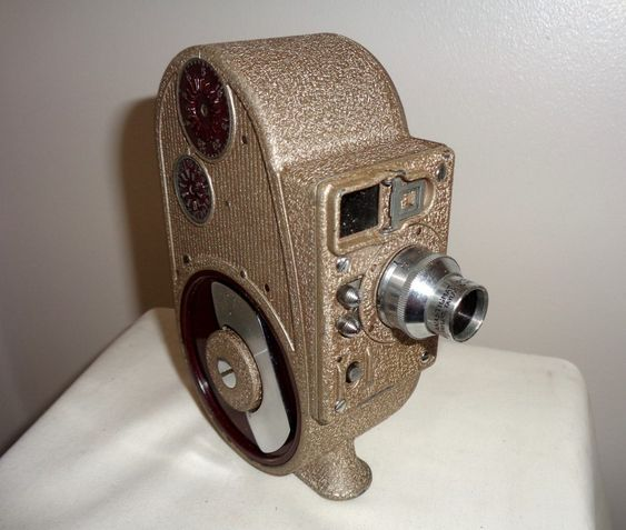 Gb Bell Howell Sportster Double Run Eight Cine Camera Mytal