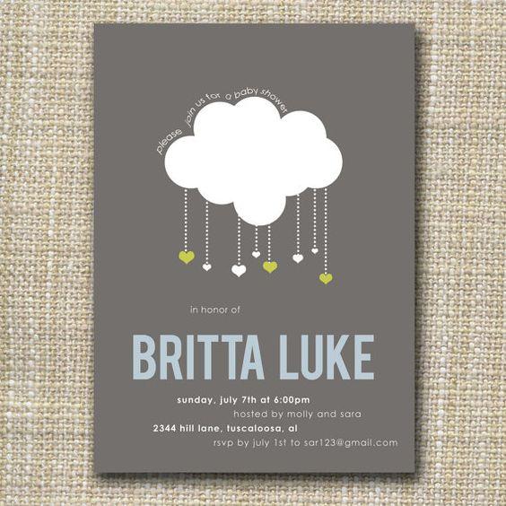 @Tiffany Thomas if you like the umbrella theme these are cute!