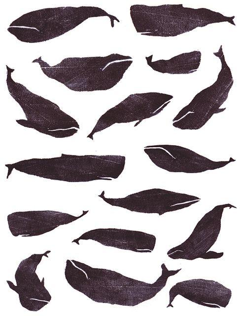 whales pattern  JulieVW