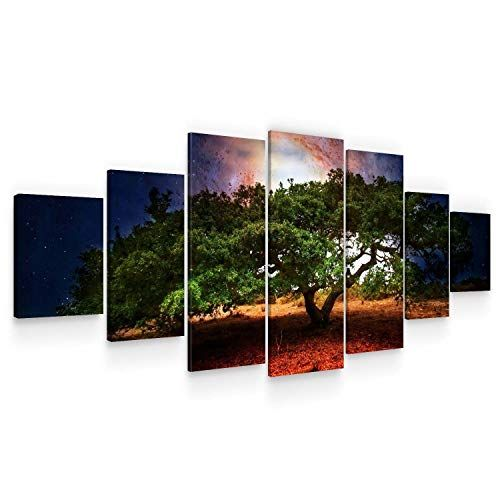 Startonight Huge Canvas Wall Art Old Big Tree Usa Large Home Decor Dual View Surprise Artwork Modern Framed Wall Large Canvas Wall Art Wall Canvas Canvas Wall Art Set