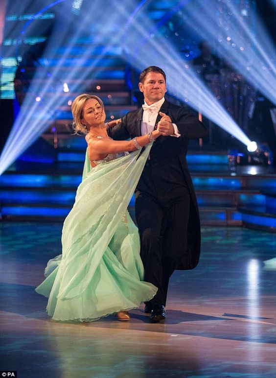 Strictly veteran: Ola is completing her ninth year on Strictly with her nature show presen...