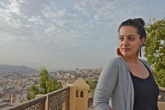 Tamara Abdul Hadi in Fes - photo by Vanessa Bonnin