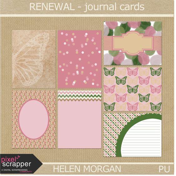 FREE Renewal Journal Cards By Yolomomof2 [ PS May 2015 Blog Train ]