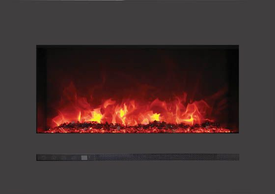 Sierra Flame 26 Built In Wall Mounted Electric Fireplace Wm Fml