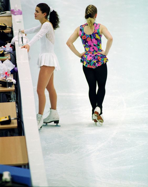 """Just before the 1994 Olympics, it was alleged that Tonya Harding might have been part of the conspiracy to hurt Nancy Kerrigan. The """"Kerrigan Attack"""" increased the popularity of figure skating."""