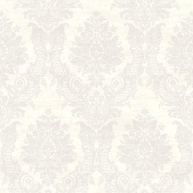CW21300-Sinclair Grey Textured Damask wallpaper