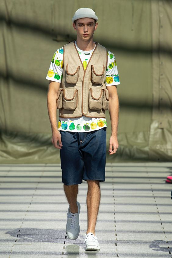 Junya Watanabe Spring 2019 Menswear Paris Collection - Vogue