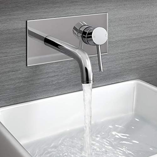 How To Decorate Your Bathroom With Wall Mounted Basin Taps Bathroom Wall Mounted Basins Wall Mounted Bath Taps Wall Mounted Taps