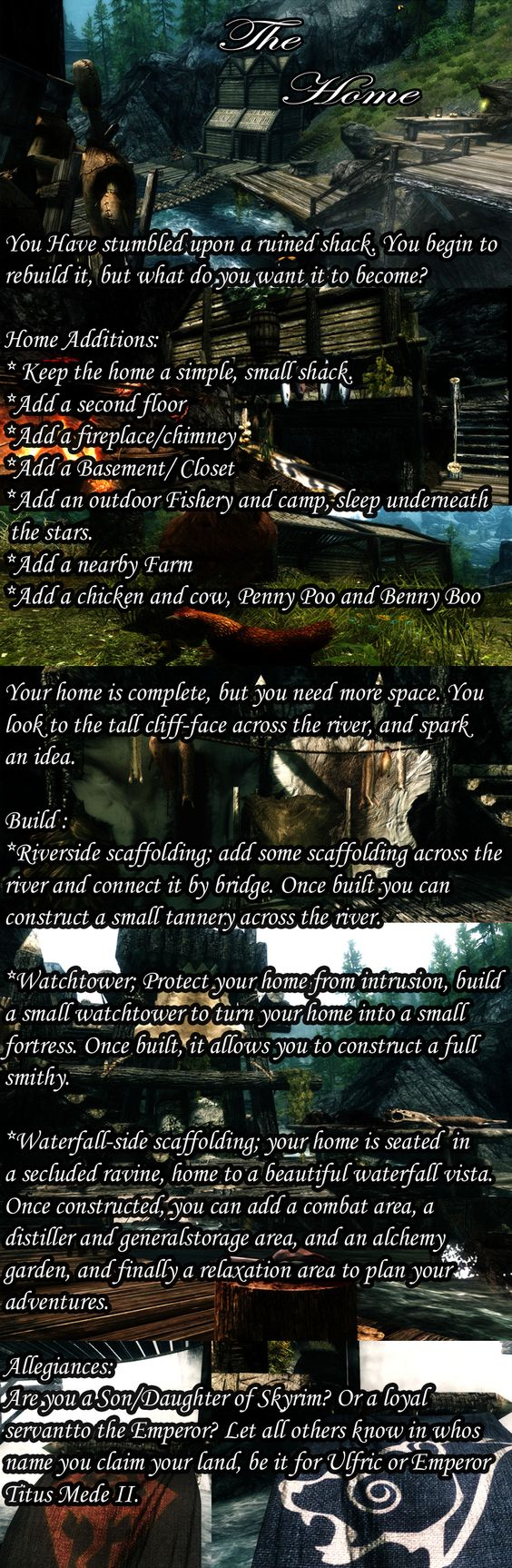 Build Your Own Home Skyrim Mods Pinterest Home And