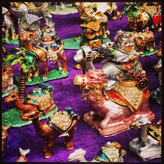 https://flic.kr/p/e6J7jG | Camels, camels, camels. Pretty trinket boxes in the Souk in Medina Tunis on #mscpreziosa maiden