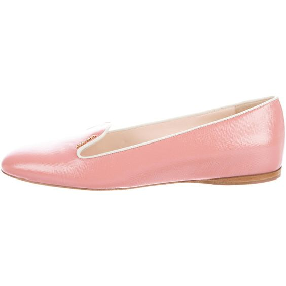 Pre-owned - Pink Ballet flats Prada