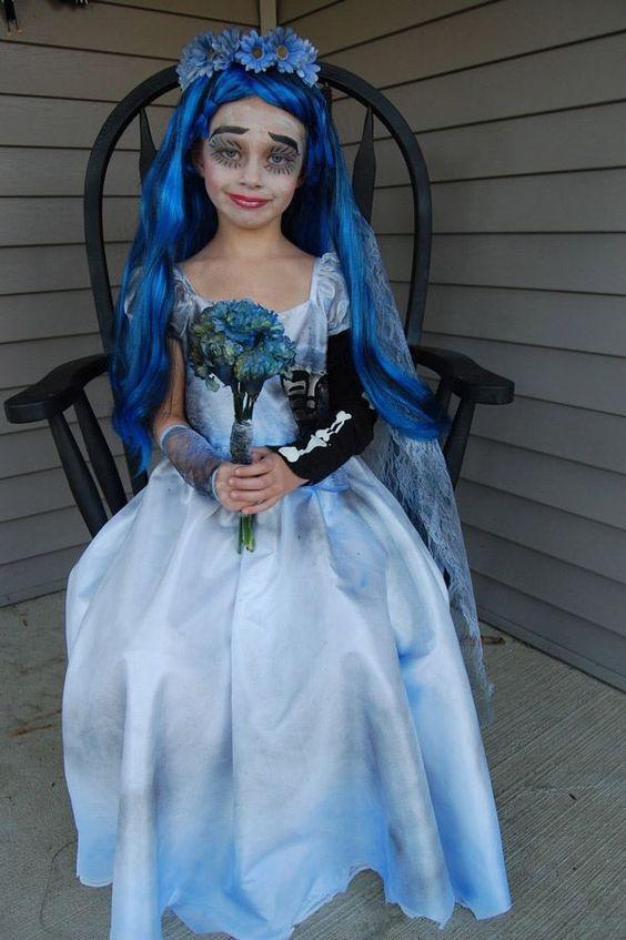 Siete ejemplos de disfraces infantiles para Halloween - Chicas