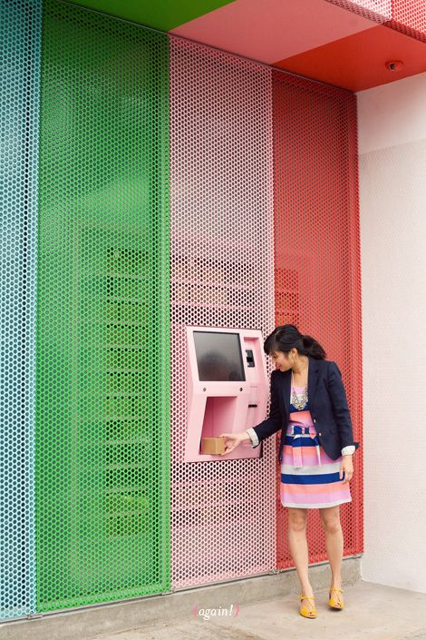 Sprinkles Cupcake ATM  awesome!