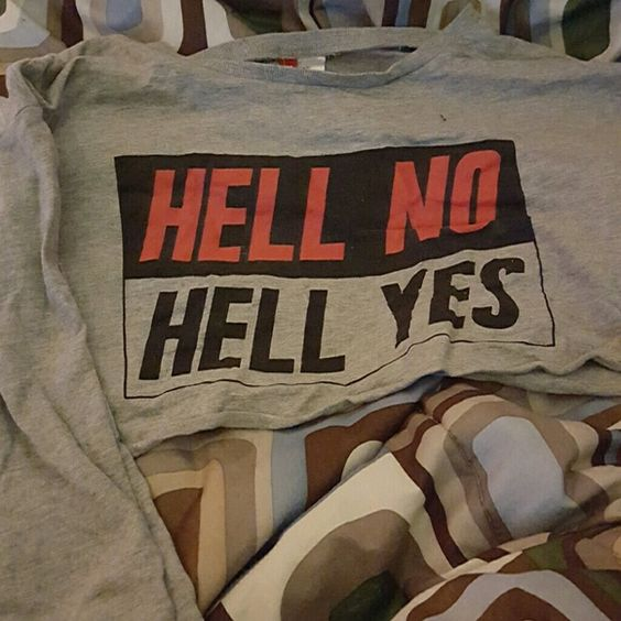 ????Hell No! Hell Yes crop top from H&M This is a crop top from H&M ! It's best to wear maybe over, bikini tops!!!!  ???????????? H&M Tops Crop Tops