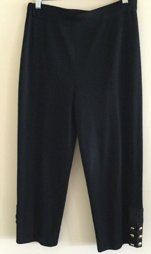 Authentic Exclusively MISOOK Elastic Pull on Knit Pants Womens Sz M   eBay