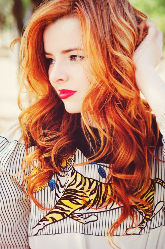 I love this hair color.