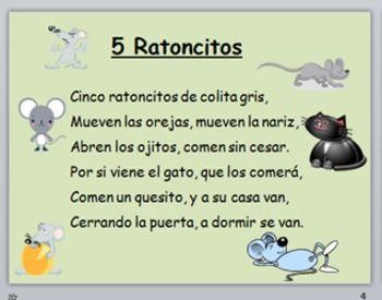 Spanish Rhymes/Poems for Fall - Dual Language Kindergarten/PreK ...
