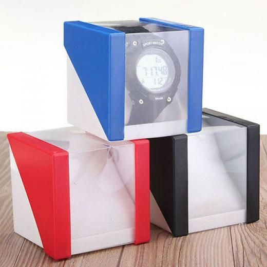 Single Present Gift Box For Bangle Jewelry Ring Earrings Bracelet Wrist Watches