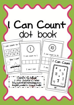 This is a great book to practice counting to ten and reading simple, repetitive sight words.  The children will complete each page by stamping Do-A...
