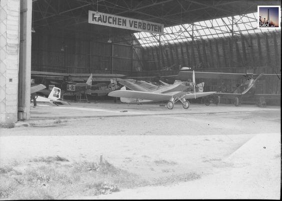 Hangar Aspern, Wien, 1933