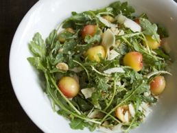 Arugula, Golden Cherries, Marcona Almonds and Parmigiano-Reggiano ...