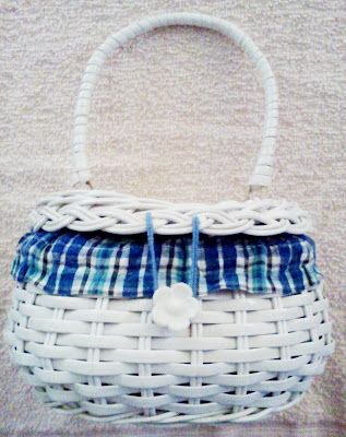 Goodwill basket purse recycling/rescue project