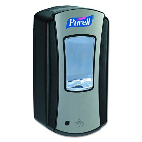 Purell 1928 04 Ltx 12 Touch Free Hand Sanitizer Dispenser Black