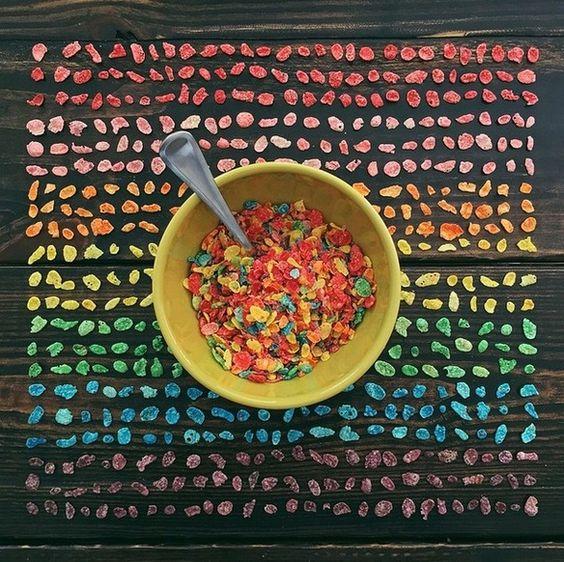 Bellas fotografías donde lo que más destaca es el color y el orden — cribeo