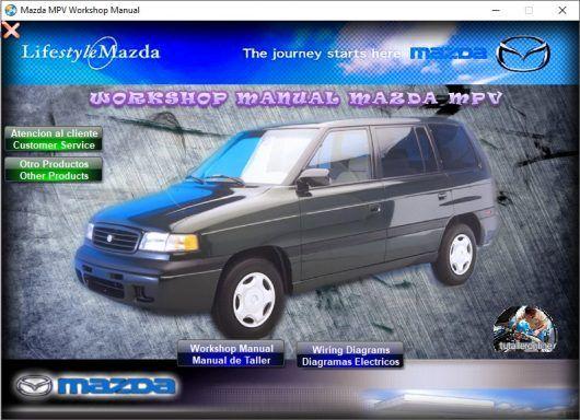 Manual De Taller Y Reparacion Mazda Mpv 1996 1999 Mazda Y Taller