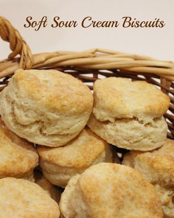 Jenn's Random Scraps: Almost Spring, and Sour Cream Biscuits #recipe #apeekintomyparadise
