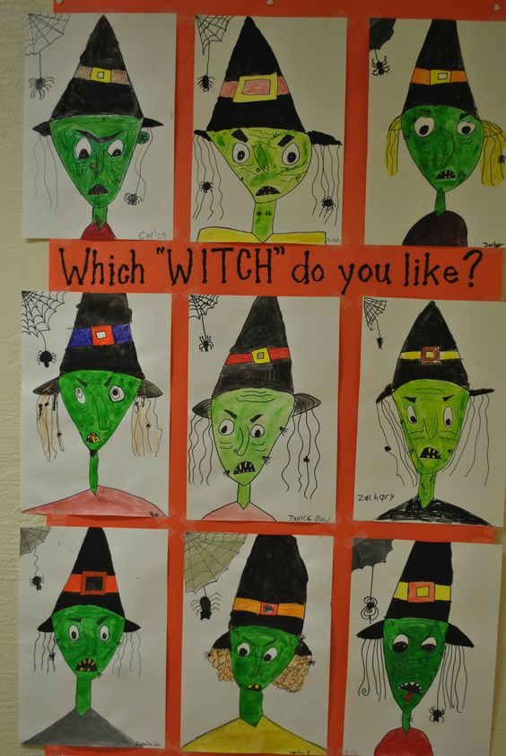Which Witch do you like? 3-5 aftercare group