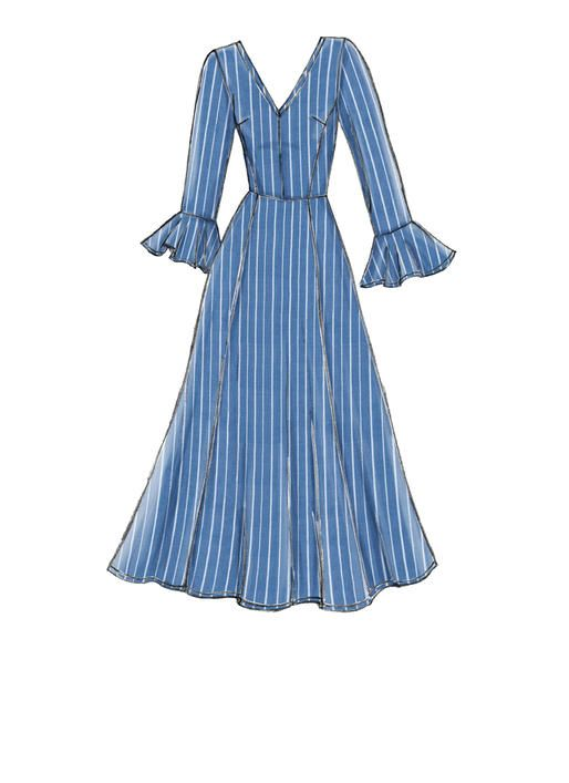 V9328 Misses Dress Sewing Pattern Vogue Patterns Fashion Design Clothes Dress Design Sketches Dress Sketches